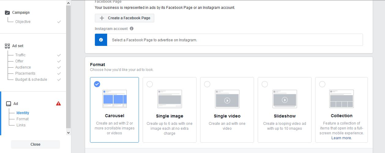 Facebook Ads to Build FB Step 4