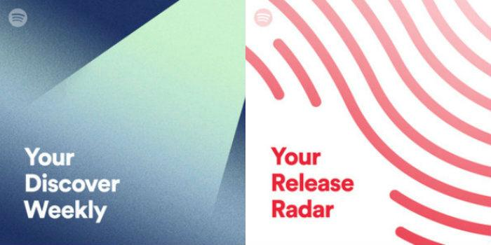 Discover Weekly Release Radar Ditto